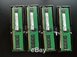 64Gb (4 x 16GB) DDR4 PC4-2400T 2400MHz VLP ECC Server RAM Dell PowerEdge R730